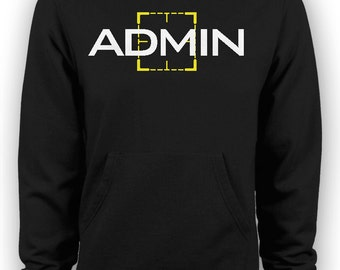 Person of Interest - Harold Finch Admin Hoodie