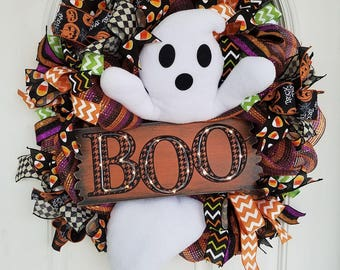 lighted boo ghost