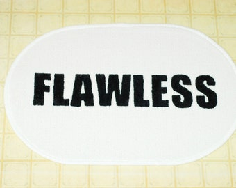 Flawless - Bath Mat, Bedroom Mat