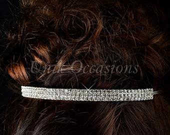 Rhinestone Bridal Headband - Style 14