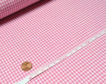 Baumwollstoff Karo rosa, 0,5m., KrabbeldeckenStoff, FashingStoff, 100%Baumwolle, Kinderkleidung, Kinderzimmer, Patchworkstoff Quilt