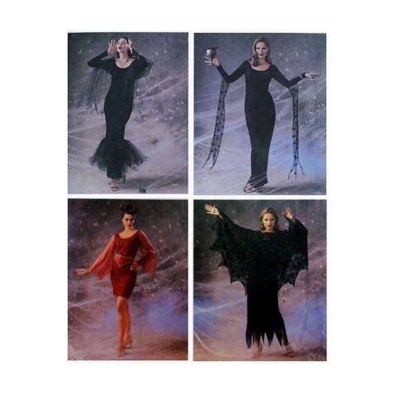 Women\'s Halloween Costume Sewing Pattern, Plus Size 18, 20, 22 ...