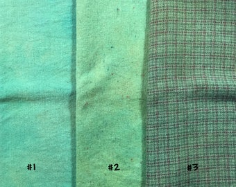 Saxon Blue with Fustic Batch #1 ~ Naturally – Hand – Plant Dyed Wool