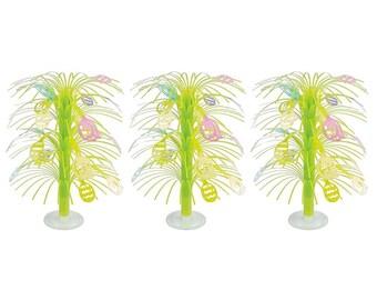 "13"" Set of 3 Easter Egg Trees Tabletop Decoration"