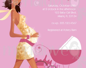 DIY - Invite - Sassy Mama Baby Shower