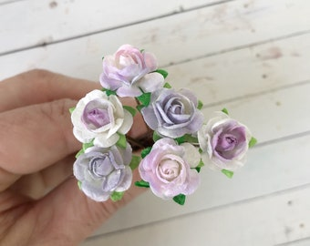 Monet Inspired Shades of Purple Flower Hair Pins // Weddings, Bridesmaids, Prom, Thank You Gifts, Holidays // Romantic Hair Styles