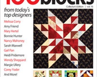 Quiltmaker's 100 Blocks Vol. 16 Personalized Copy
