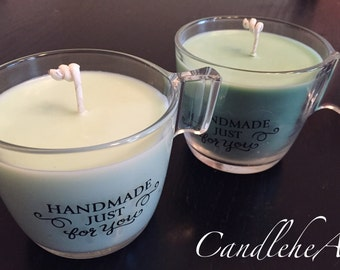 Soy Candle Cup 8oz