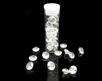 Small Edible Diamonds/ Sugar Crystals/ Edible Gems/ Isomalt Diamonds/ Sugar Diamonds