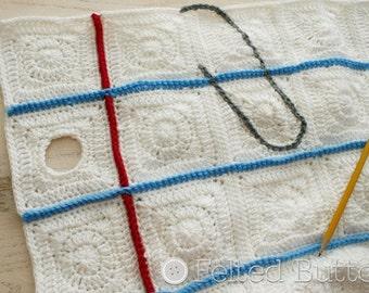 Crochet Pattern, Love Notes Blanket, Baby, Afghan