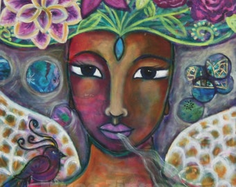 Divine Feminine Print-Angelic Support