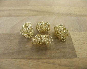 18mm Handmade 18/20 GoldFilled Spiral Separetors