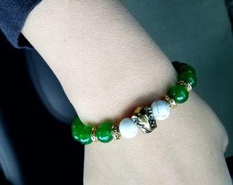 Lucky Antique Bronze Elephant Bracelet