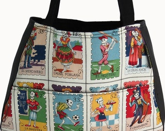 Cartas Marcadas Day of the Dead Ethel Tote