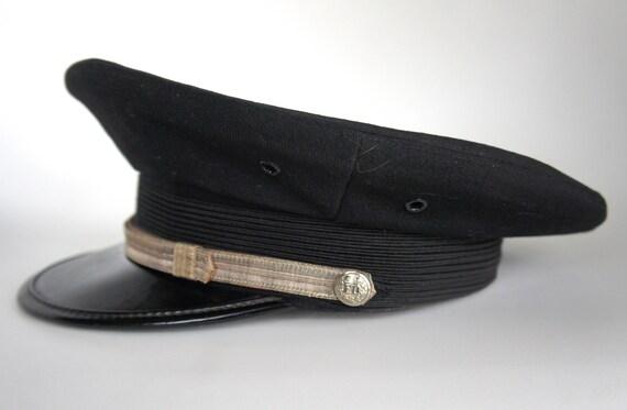 1950's Fire Department Dress Hat Seattle Fire Department size 7 1/8 Union Made Fireman fire fighter