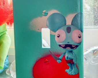 Danger(ous) Mouse Light Switch Cover