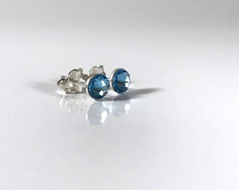 Chill Blue Sterling Silver Earrings
