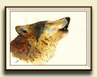 Wolf Wall Decals Etsy