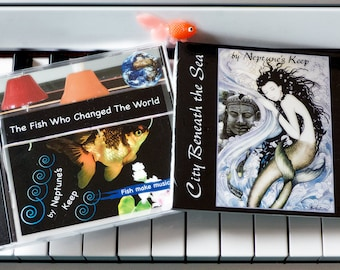 Two Fish Music CDs by Neptune's Keep - discounted package price
