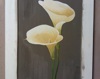 calla lilies and Tulips