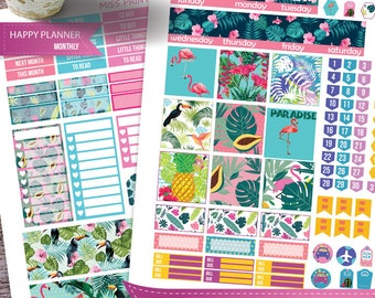 July Monthly Kit planner stickers Printable, HAPPY PLANNER STICKERS, July Monthly Kit,July happy planner, Happy Planner Stickers
