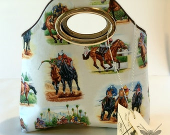Horse Racing/Kentucky Derby Handbags - Belmont Stakes, Preakness Stakes, Triple Crown