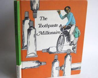 Vintage Children's Book, The Toothpaste Millionaire