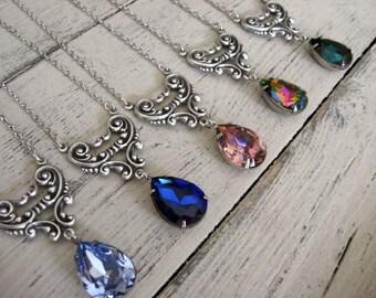 Swarovski Crystal Sweetheart Necklace