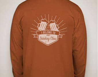 Drinking Class Long Sleeve T