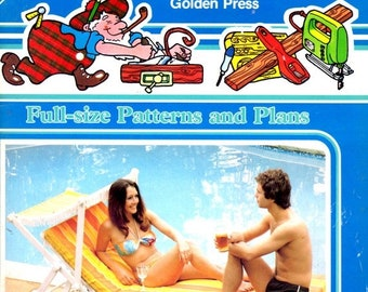 ON SALE On Sale - Golden Press McHandys Family Projects - Sunlounger - Part 7, Vintage 1980s