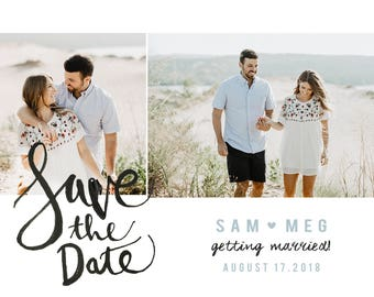 beach save the dates for wedding, wedding save the date magnets, wedding save the date postcards, save the dates, summer save the dates