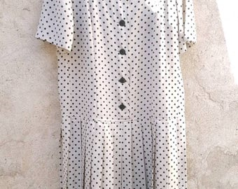 Dress 80's made in France