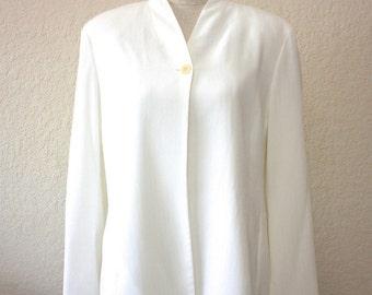 WHITE EMANUEL UNGARO Jacket