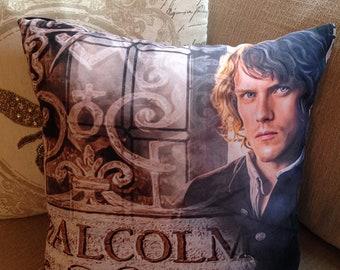 A Malcolm Print Shop - Jamie Fraser Pillow