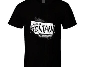 Montana t-shirt for him or her. Montana tshirt as gift. Montana tee present. Montana idea gift. Great Montana gift with this Montana t shirt