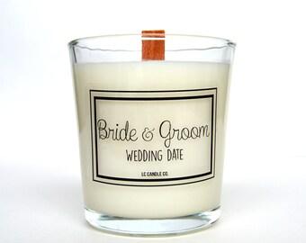 Wedding Day Candle | Custom Wedding Candle | 10 oz Soy Candle