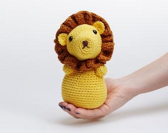 Crochet Cute Animals,Jungle Baby Toy,Amigurumi Lion,Crochet Lion,Lion Plush,Lion Plushie,Jungle Baby Decor,Jungle Animal Toy,Lion Soft Toy