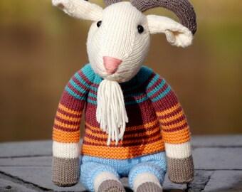 ERICH THE GOAT knitting pattern