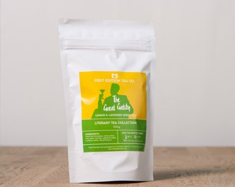 The Great Gatsby Loose Leaf Tea - Gift for Book Lover - The Literary Tea Collection - Lemon and Lavender Green Tea - 100g bag