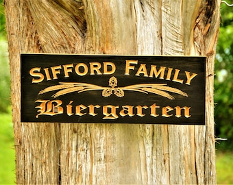 Beer Gift Last Name Sign Family Name Signs Craft Beer Sign Bar Signs Beer Gifts Beer Lovers Beer Brewing Gifts Custom Wood Signs Custom Wood