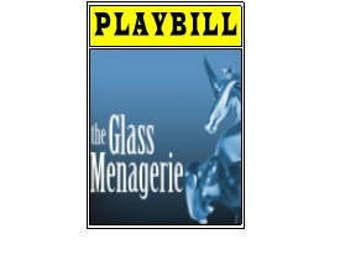 Theater / Show Charm - Playbill Play Bill -  The Glass Menagerie