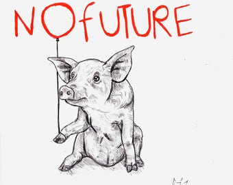 No Future Print