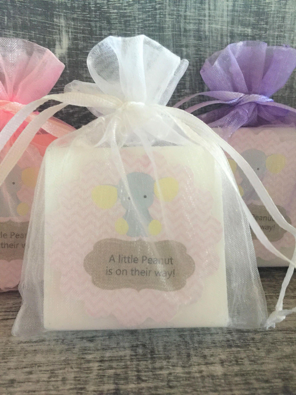 Girl Elephant Soap Favors: Baby Shower Favors Birthday