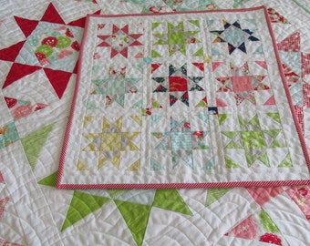 Shine Mini Quilt PDF Pattern