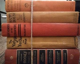 Fall Orange/Yellow, Vintage Books