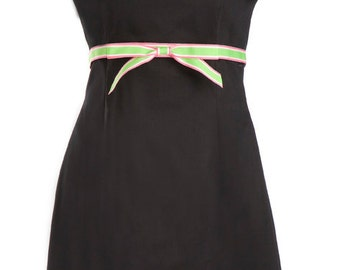 Black Dress - Halter