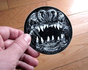 Star Wars Inspired Rancor Monster Sticker Set (3)