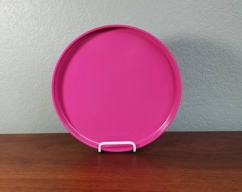 One Pink Heller Stackable Dinner Plate