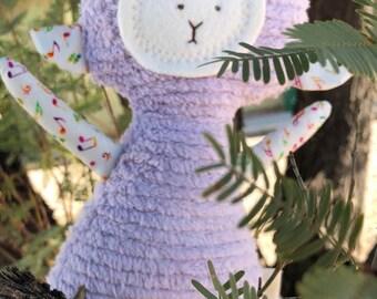Stuffed Animal, Toy Soft Doll, Plush, Natural Eco Friendly Lamb Music