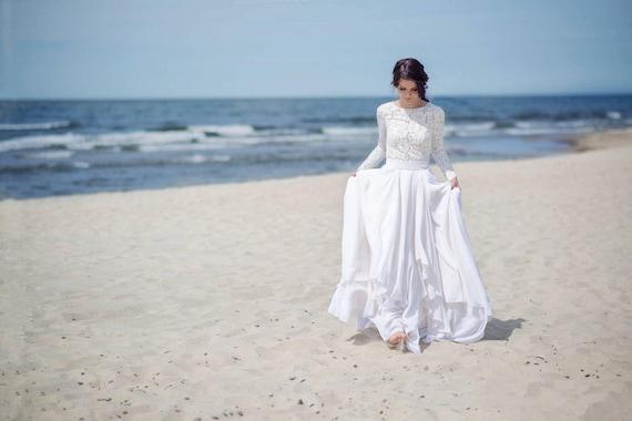 Eirene - modest wedding dress